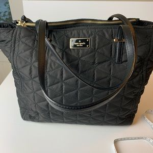 Kate Spade Quilted Black Tote